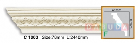 Карниз гибкий Gaudi decor C 1003 Flexi (2,44м)