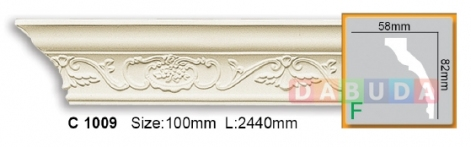 Карниз гибкий Gaudi decor C 1009 Flexi (2,44м)