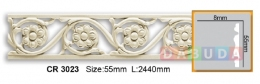 Молдинг фоновый Gaudi decor CR 3023